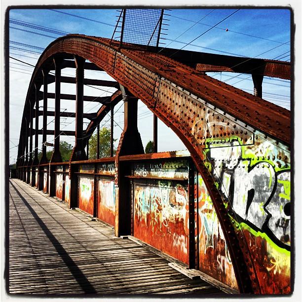 Brücke an der Kinzig in Offenburg