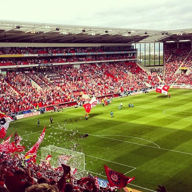 Mainz 05 gegen Bayer Leverkusen