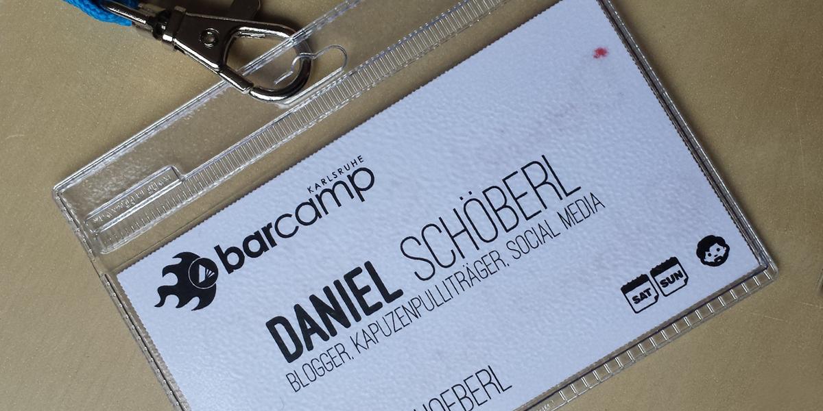 Barcamp Karlsruhe 2014