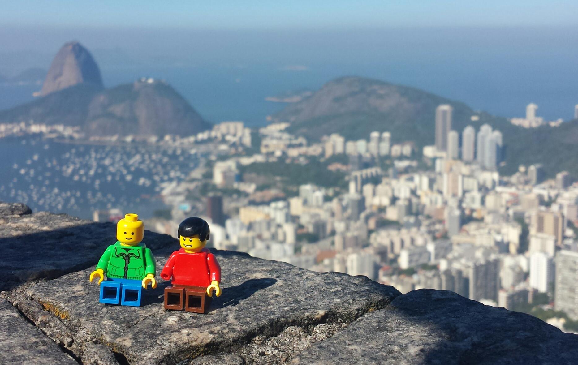 LEGO-Figuren in Rio