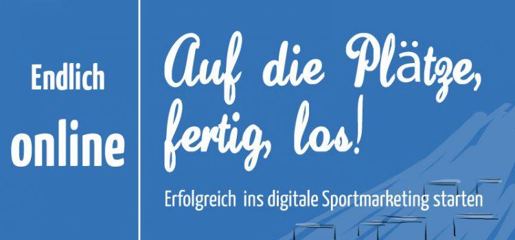 """Digitales Sportmarketing: Mein E-Book """"Auf die Plätze, fertig, los!"""" ist online"""