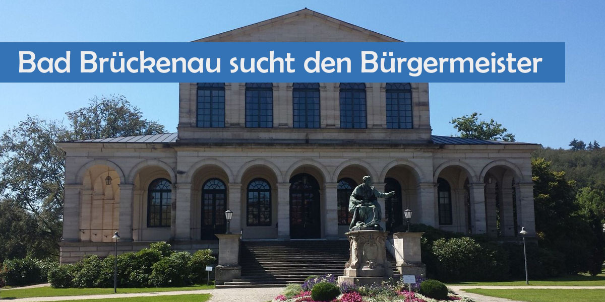 Buergermeisterwahl in Bad Brueckenau